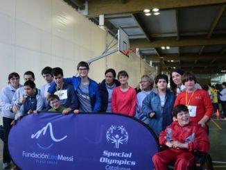 Badalona jornada escolar bàsquet esport adaptat