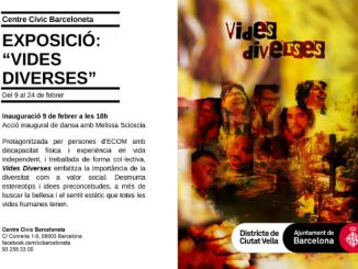 cartell vides diverses centre cívic barceloneta