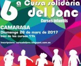 cartell cursa solidària del jonc camarasa