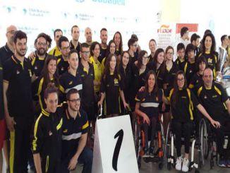 delegació nedadors campionat natació ccaa
