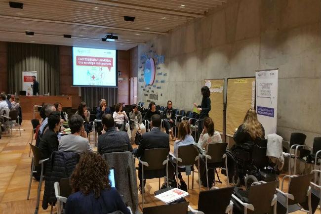 Jornades de consulta amb les entitats per a la creació d'una guia de comerç accessible a l'AMB
