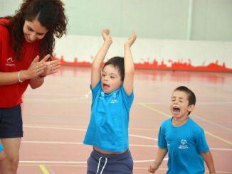 alumnes discapacitat intel·lectual programa young athletes reus