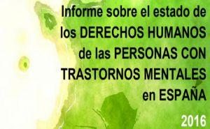 publicat informe estat drets trastorn mental espanya