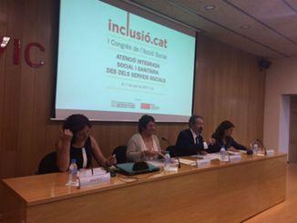 Dolors Bassa 1er congrés acció social catalunya