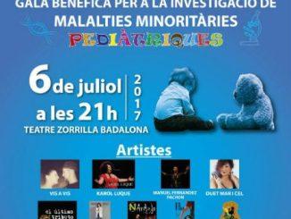 cartell gala benèfica malalties minoritàries
