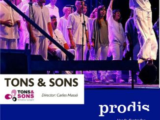 cartell conceert musical prodis tons&sons