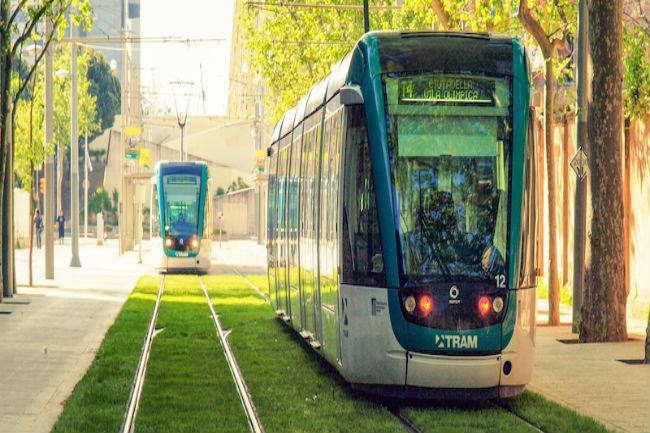 tram opendata mobilitat tranvia barcelona