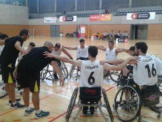 jugadors catalans concentració bàsquet cadira rodes sub-22