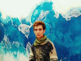 Kelly Arrontes mural basat en aigua