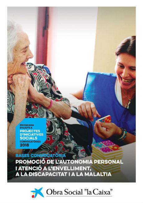 Ajuts per a la promoció de la vida independent, l'envelliment, a la discapacitat i a la malaltia