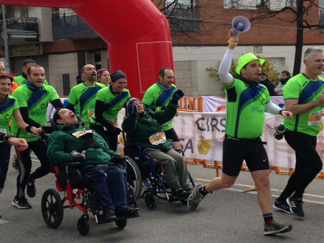 mitja marató terrassa prodis voluntaris