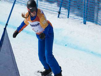 astrid fina medalla temporada banked slalom