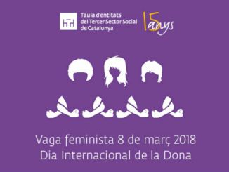 cartell dia dona vaga feminista taula tercer sector
