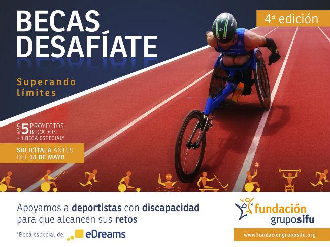 4a edicio beques desafiate sifu reptes esportius discapacitat