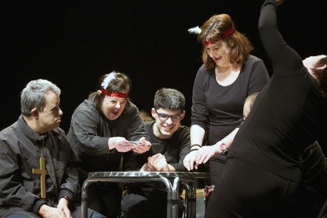 teatre ganyotes twestern 25 anivesari