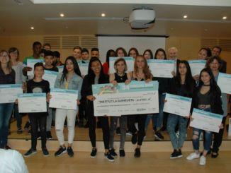 Institut La Guineueta guanyadors concurs escolar once
