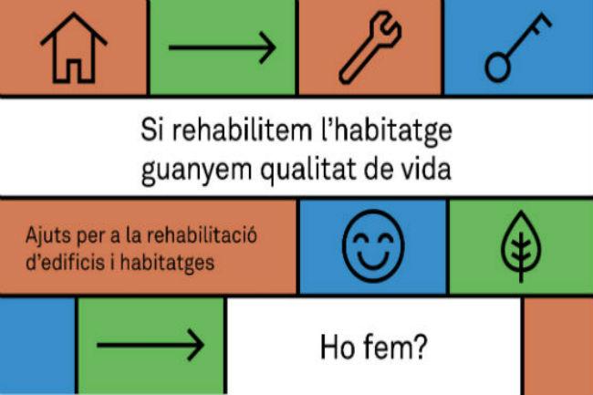 ajuts barcelona accessibilitat rehabilitació edificis habitatges