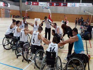 partit amistós selecció catalana bàsquet cadira rodes