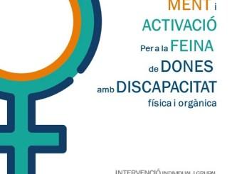 cartell programa activació ocupació dones discapacitat