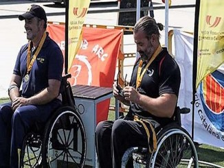arquers medalla campionat catalunya tir arc adaptat