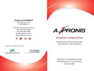 cartell jornada aspronis inserció laboral col·lectius vulnerables