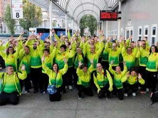 delegació esportistes Special Olympics Sant Tomàs