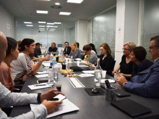support 50 assistències visita delegació human rights watch