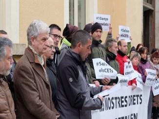 protesta blanes lloret suport ajuntaments entitats socials