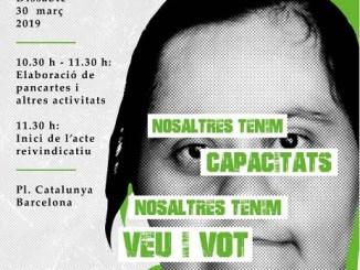 mobilització drets persones discapacitat intel·lectual