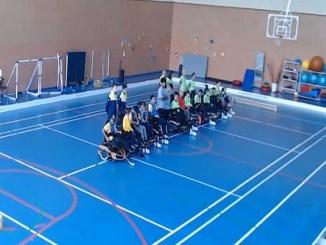 comkedem segona posició lliga catalana hoquei cadira rodes elèctirca