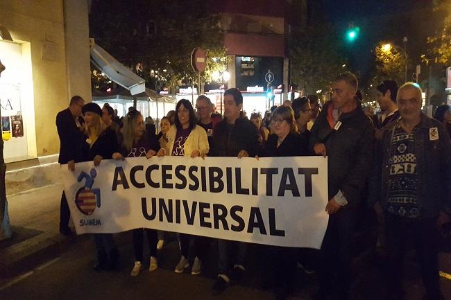 sumem marxa conculca dret accessibilitat universal