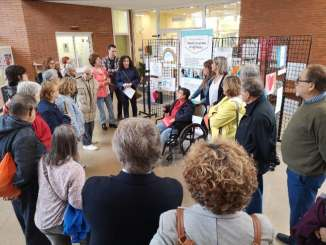 exposició-terrassa-alumnes-discapacitat-gent-gran