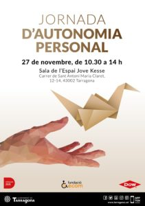 jornada autonomia personal municipi tarragona