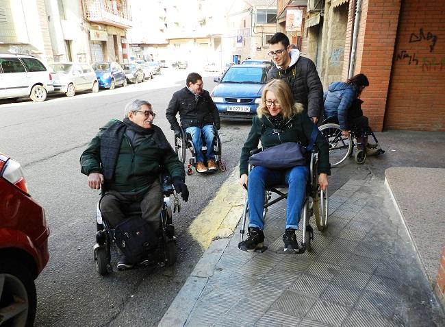 aspid lleida millora elements urbans accessibles