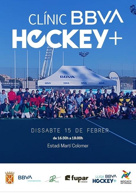clínic bbva hockey plus jugadors discapacitat intel·lectual
