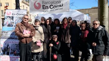Paradeta de Barcelona en Comú