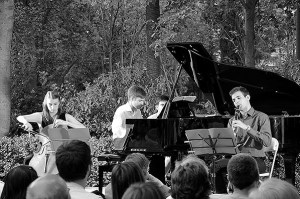 El Trio Maians al Turó Parc. Fotografia de Carma Rocamora