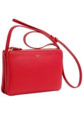Celine Trio Bag Red