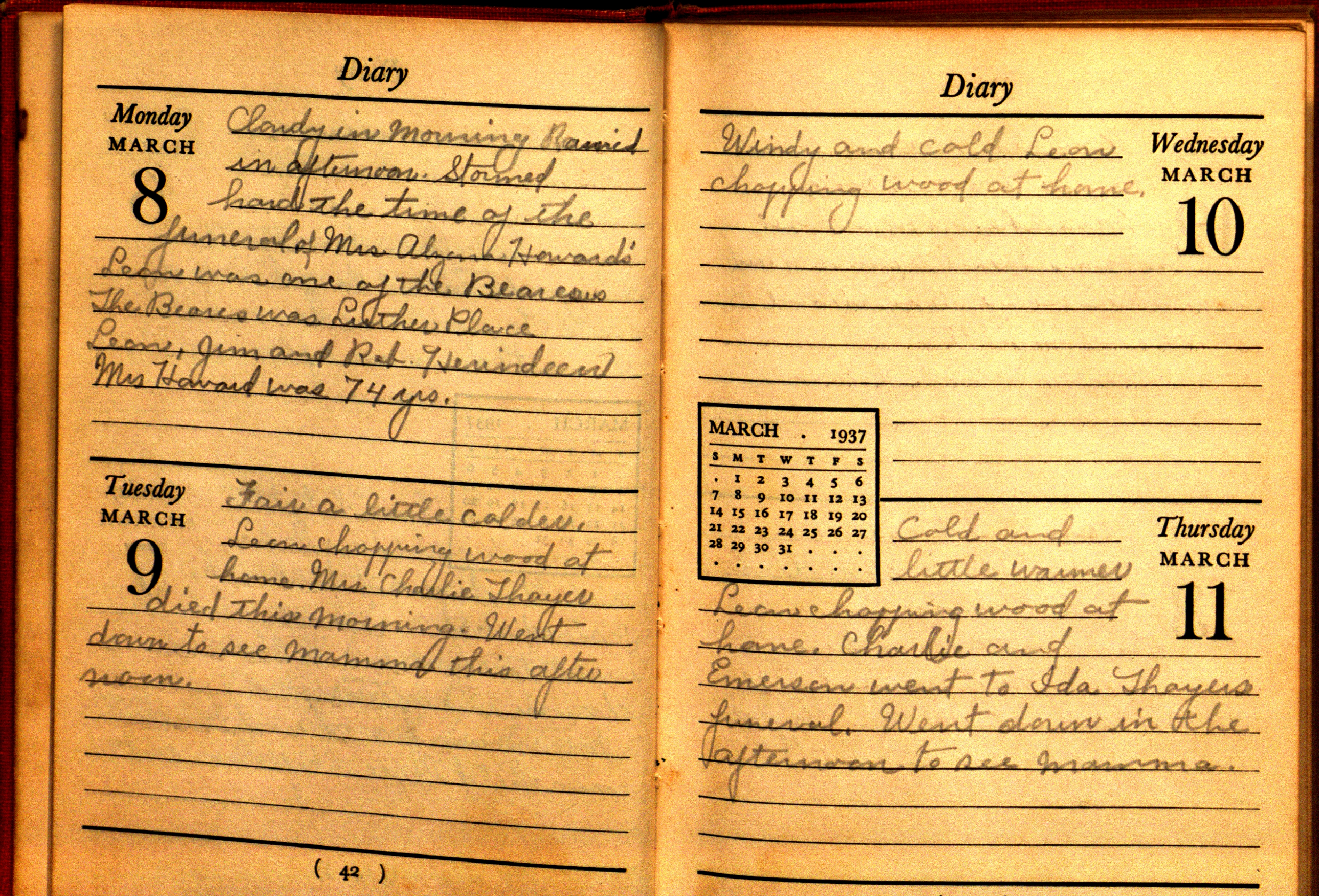 Examples Of Diaries Amp Journals