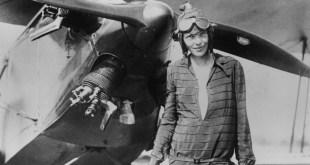 La aviadora desaparecida en 1937, Amelia Earhart