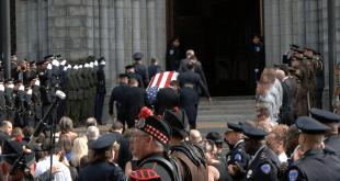 Funeral del Agente de Policía Michael Langsdorf