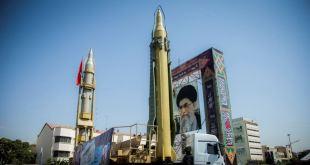 Monumento a la capacidad nuclear Iraní