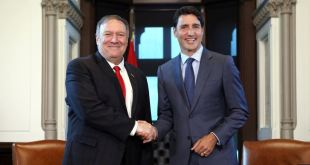 Mike Pompeo y Justin Trudeau