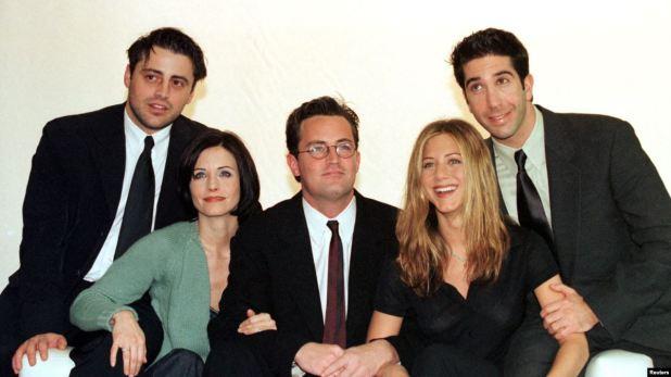 """25 años de """"Friends"""" 1"""