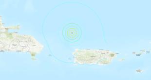 Terremoto 6.0 en Puerto Rico