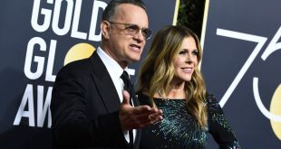Tom Hanks: Globo de Oro por su trayectoria 1