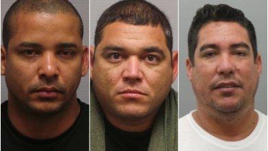 Photo of Tres hombres latinos arrestados en Chesterfield por robo de identidad y tarjetas de crédito