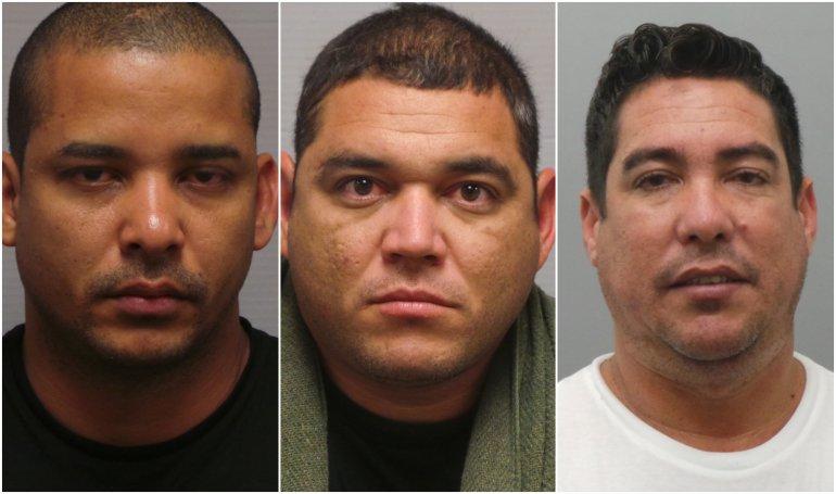 Tres hombres latinos arrestados en Chesterfield por robo de identidad y tarjetas de crédito 1