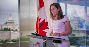 Canadá: Trudeau nombra a Freeland nueva vicepremier 9