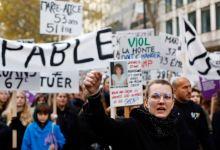Photo of Decenas de miles marchan en París contra violencia doméstica